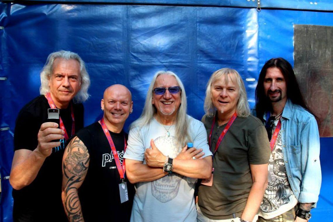 Uriah Heep zagra w Katowicach w MegaClub