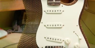 Gitara z kartonu? To możliwe!