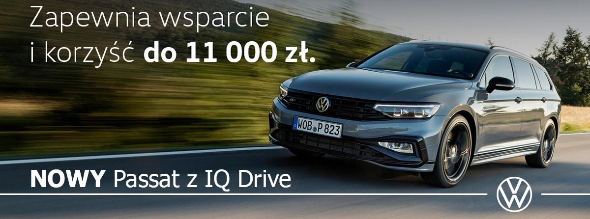 Nowy Volkswagen Passat z IQ Drive