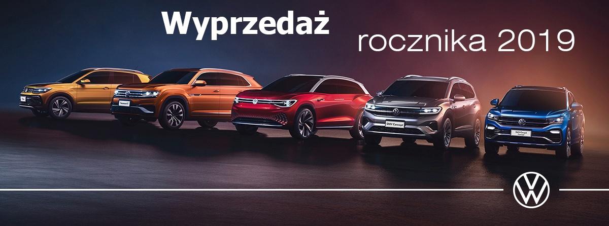 Volkswagen Wyprzedaż rocznika 2019