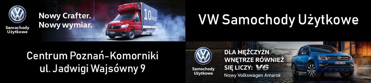 VW Samochody użytkowe Centrum Poznań-Komorniki