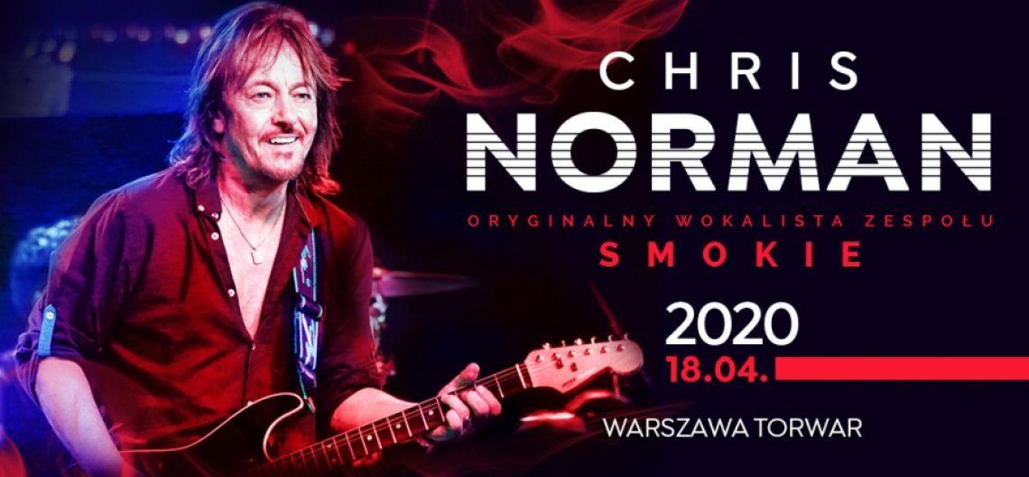 Chris Norman w koncercie na warszawskim Torwarze 18 kwietnia 2020