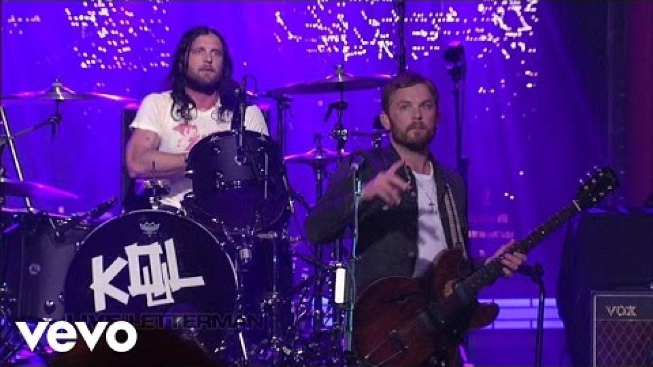 Kings Of Leon - Family Tree (Live on Letterman)