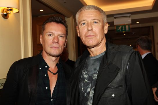 Adam Clayton & Larry Mullen