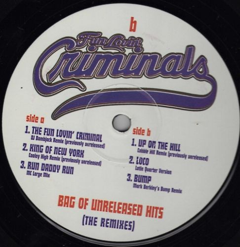 Bag Of Unreleased Hits (The Remixes)