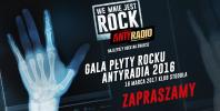 Rozdanie nagród w plebiscycie Płyta Rocku Antyradia 2016