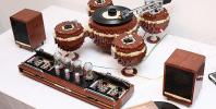 Lego gramofon